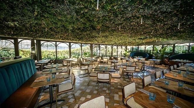 """Il ristorante focacceria """"Manuelina"""" di Recco."""