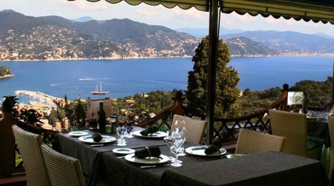 Il ristorante La Stalla dei Frati a Santa Margherita Ligure.