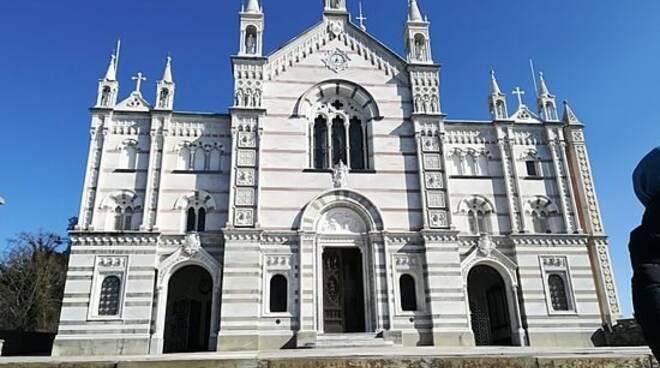 Il Santuario di Montallegro.