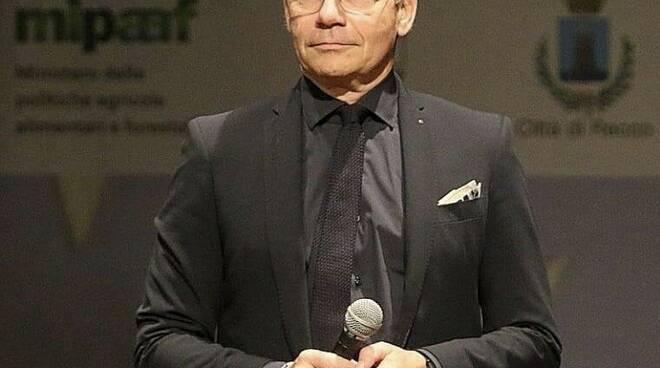 Il sindaco di Recco Carlo Gandolfo.