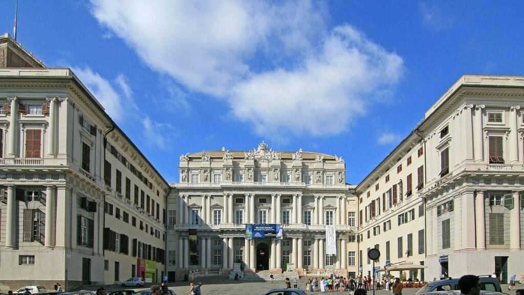 Palazzo Ducale a Genova.