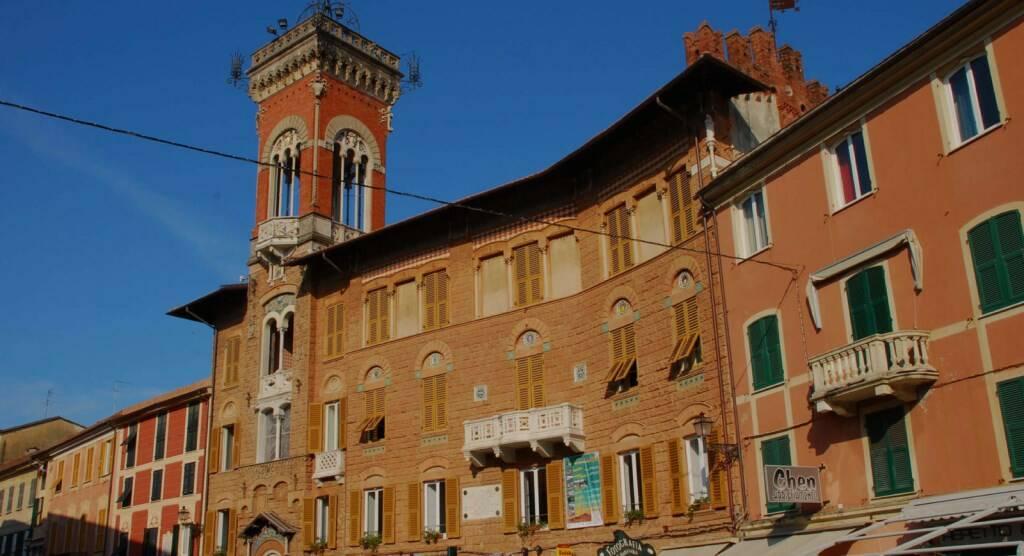 Il Palazzo Fascie di Sestri Levante.