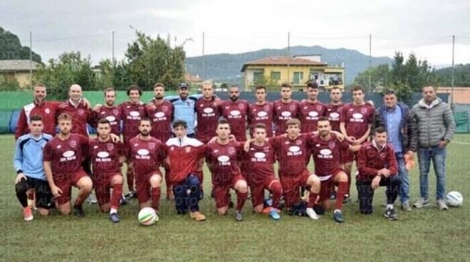 La formazione del Casarza Ligure per la stagione 2019/2020 in I Categoria