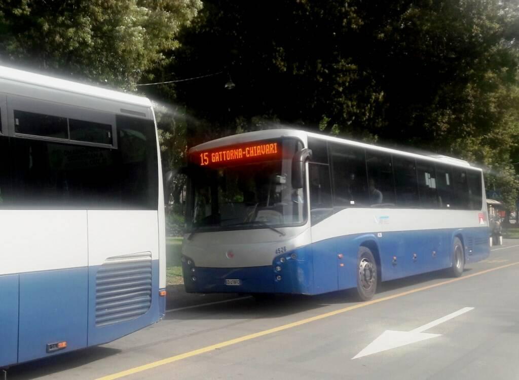 La Linea 15 di Atp Gattorna/Chiavari.