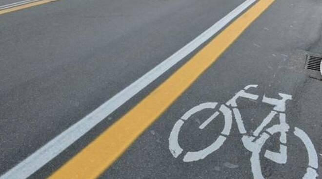 La pista ciclabile di Cogorno.