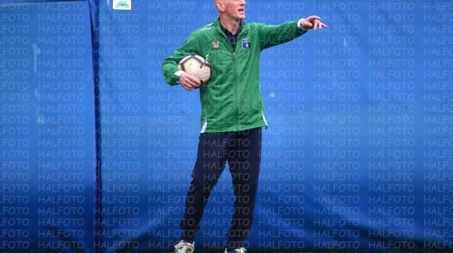 Luca Piropi allenatore della Caperanese.