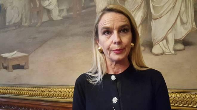 Stefania Pucciarelli, senatrice della Lega Nord.