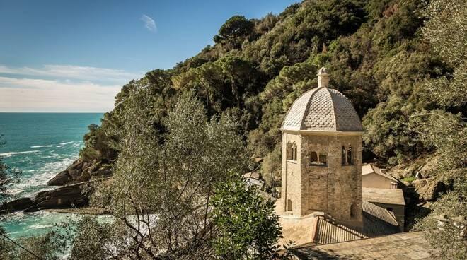 Torre Nolare dell'Abbazia di San Fruttuoso a Camogli.