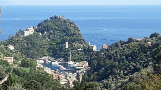 Veduta di Portofino.