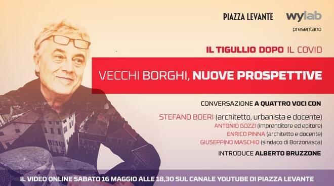 """Wylab e Piazza Levante presentano """"Il Tigullio dopo il Covid""""."""