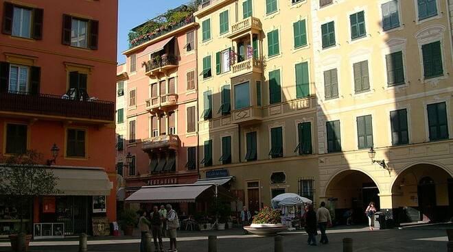 Il centro storico di Santa Margherita Ligure