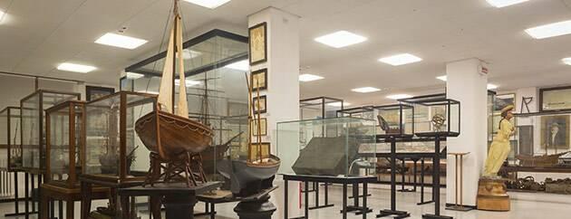 """Il Museo Marinaro di Camogli """"Gio Bono Ferrari""""."""