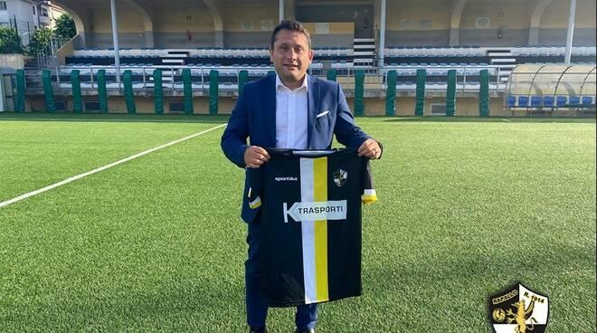 Il Rapallo Rivarolese presenta il neo allenatore Cristiano Rossetti.
