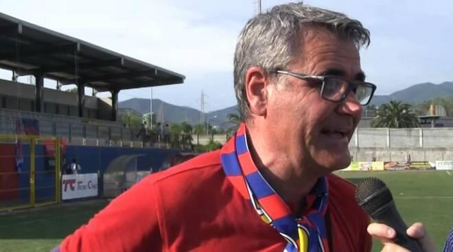 Stefano Risaliti, presidente del Sestri Levante Calcio.