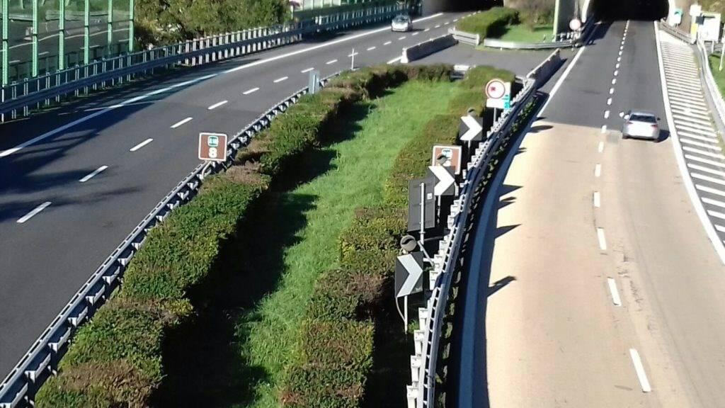 Tratto autostradale di Rapallo.
