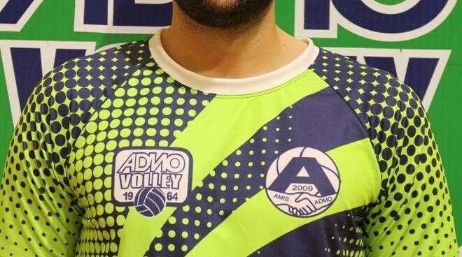 Alessandro Repetto dell'Amis-Admo Volley.