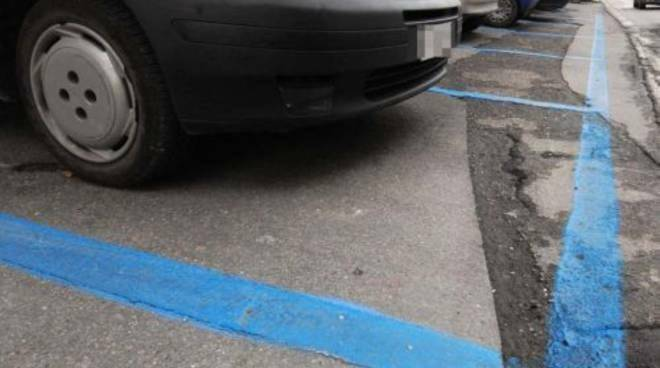 auto, parcheggio, aree blu