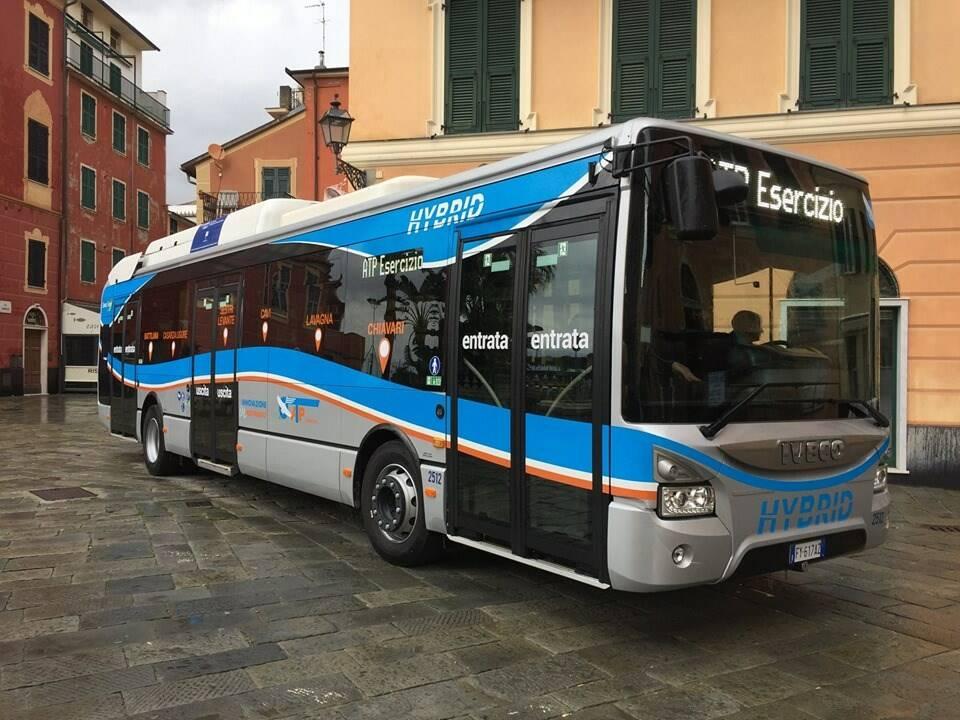 Bus per il Tigullio di Atp Esercizio.