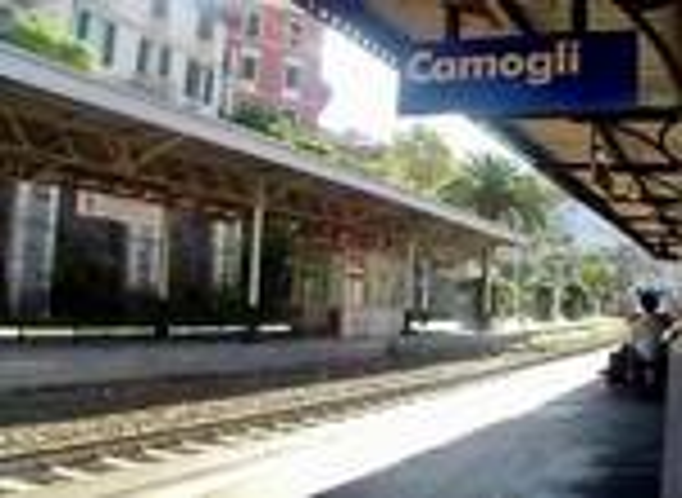 camogli, stazione, ferrovia