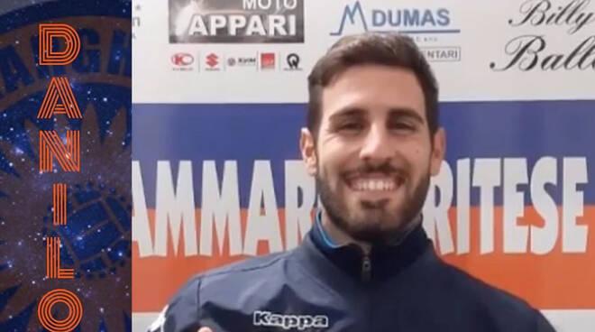 Danilo Criscuolo, giocatore della Sammargheritese