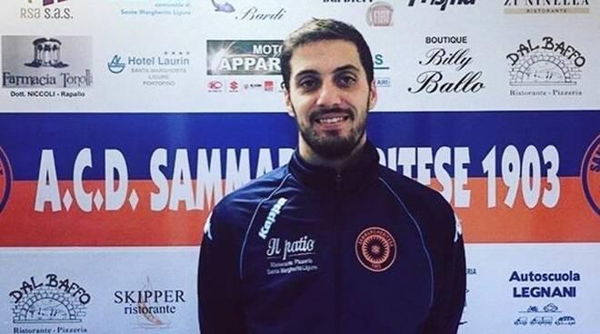 Davide Mortola, capitano della Sammargheritese