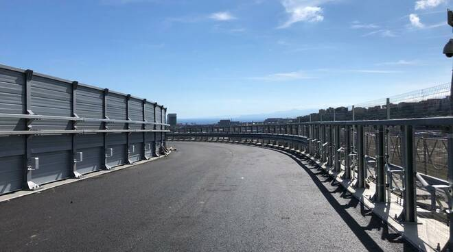elicoidale, ponte genova san giorgio