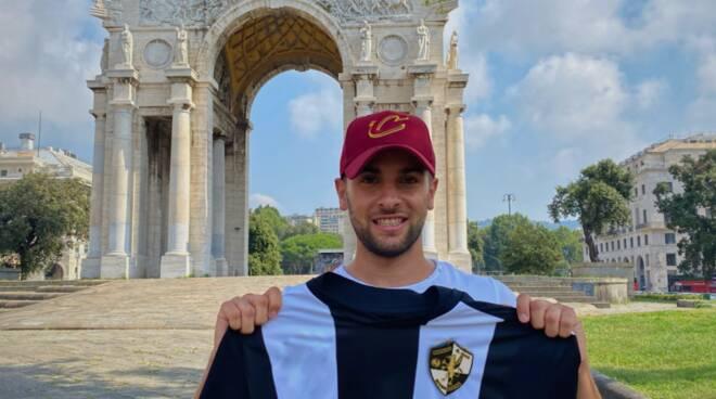 Fabio Panepinto, fortissimo centrocampista neo acquisto del Rapallo Rivarolese.