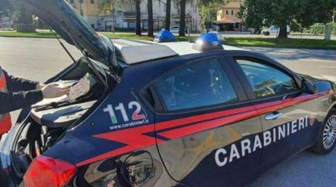 carabinieri, servizio, arma