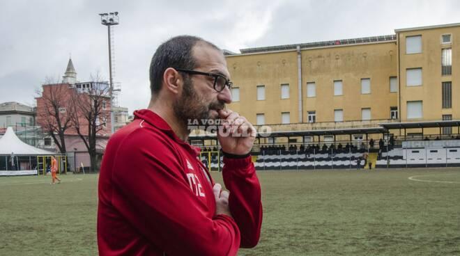 Gianni Nucera, allenatore della Lavagnese