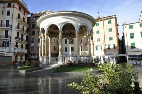 Il Chiosco della Musica del Comune di Rapallo.