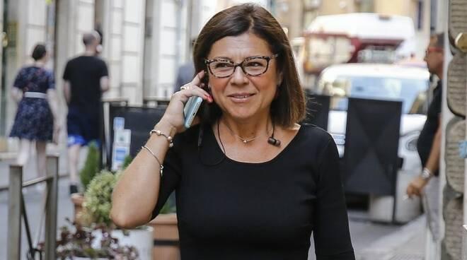 Il Ministro dei Trasporti Italiano Paola De Micheli.