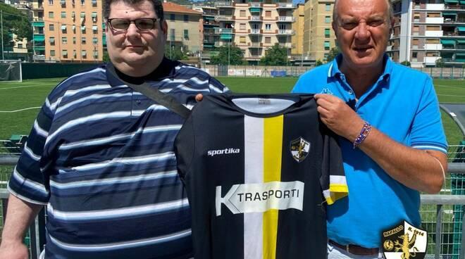 Il Rapallo Rivarolese presenta Maurizio Medulla.
