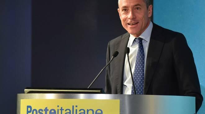 L'A.d. di Poste Italiane Matteo Del Fante.