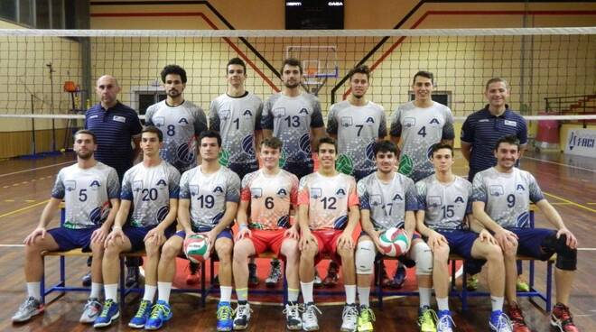 La Amis-Admo Volley promossa in Serie B.