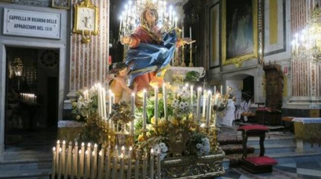 La Madonna del Boschetto.