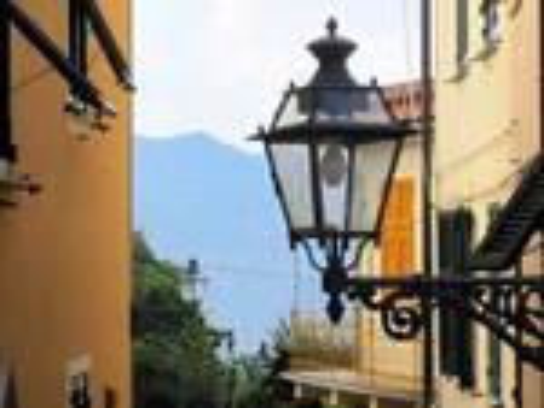 Lampione a San Rocco di Camogli