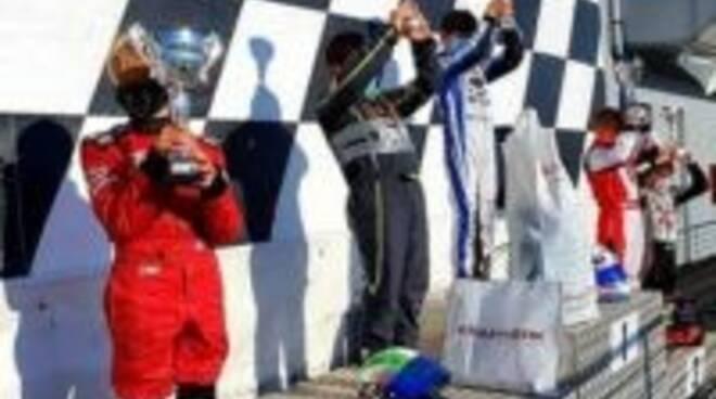 Matte Gallo sul podio ad Adria.