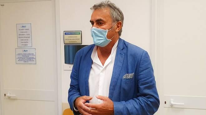Muzio al polo sanitario di Cicagna