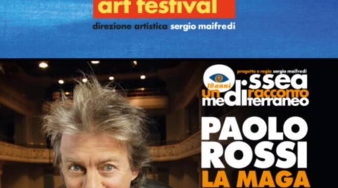 Odissea, spettacolo a Pieve Ligure con Paolo Rossi