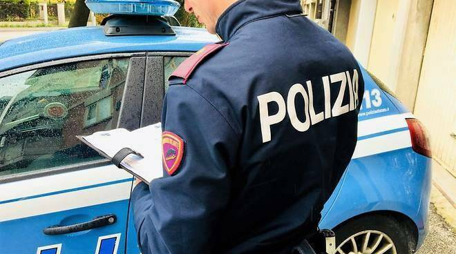 polizia, servizio, controlli