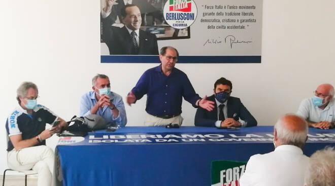 sanità, vertici, forza italia