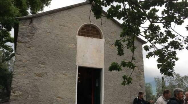 Cappella dell'Ascensione di N.S. della Guardia a Recco.