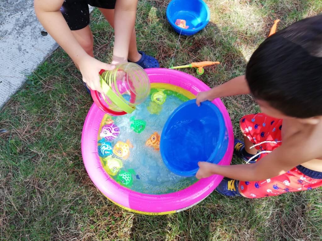 Centro estivo per bambini del comune di Sestri Levante.