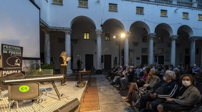 Festival della poesia internazionale di Genova.