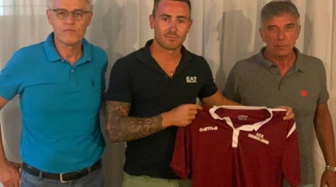 Francesco Della Pina, centrocampista classe '99 neo acquisto del Casarza Ligure.