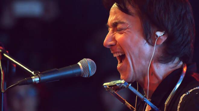 Il cantante Alberto Fortis.