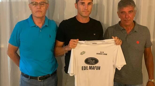 Il Casarza Ligure presenta il centrocampista Lorenzo Berti.
