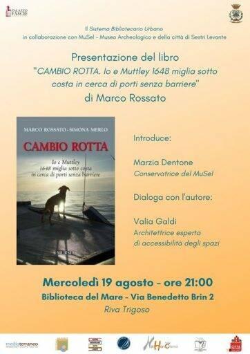 Il MuSel presenta il libro di Marco Rossato a Riva Trigoso.