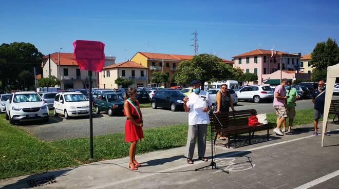 Intitolazione della piazzetta ad Aldo Vallerio