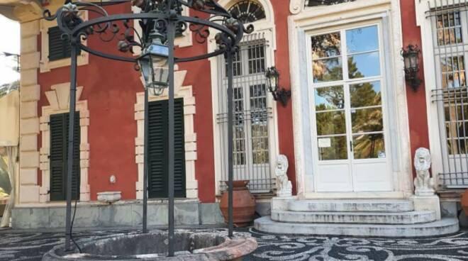 L'esterno di Villa Durazzo.
